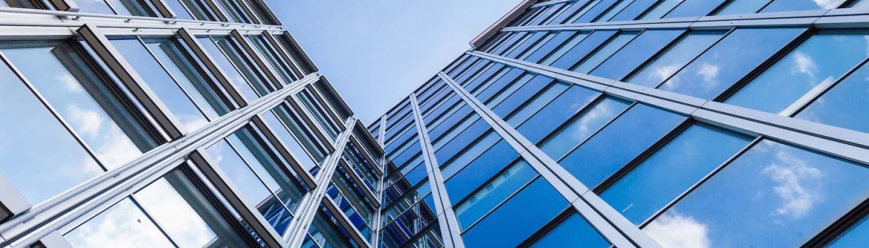 modernes Bürogebäude - Hochhaus